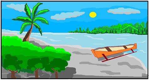 Lukisan Pemandangan Pantai pemandangan alam yang romantis related keywords pemandangan alam yang romantis