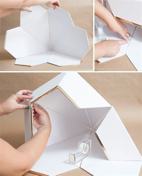 How To Make A Big Paper Box - learn how to make this diy wedding card box