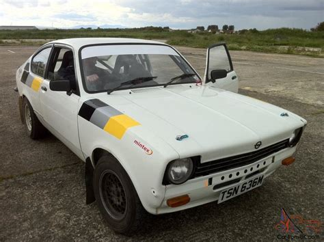 opel kadett rally opel kadett coupe historic rally car start price and
