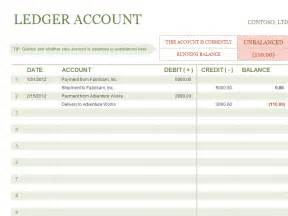 Accounting Ledgers Templates accounts ledger template accounting templates