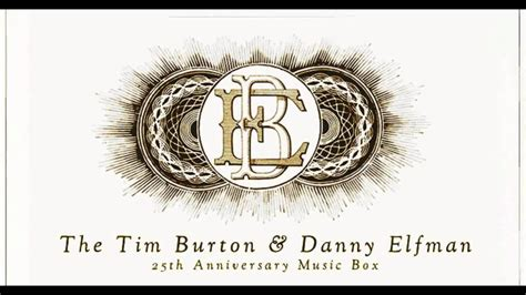 danny elfman tim burton music box 1 the danny elfman tim burton 25th anniversary music box