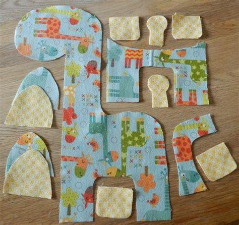 shape pattern toys step 3 cut shapes giraffe soft toy free tutorial pattern