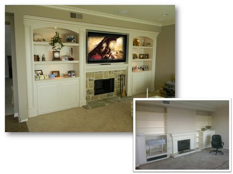 entertainment center custom cabinet home theater built