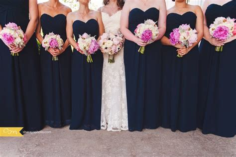 Bridesmaids Dresses Kansas City - kc wedding photographer bridal navy blue
