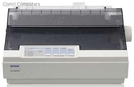 Fast Print Printer Dotmatrix Original Epson Lq300 specification sheet lq 300 ii epson lq300 ii 24 pin dot