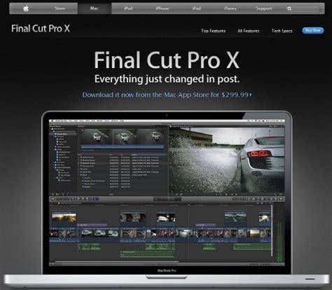 templates for cut pro x 애플 동영상 편집 프로그램 파이널 컷 프로 x 발표 it동아