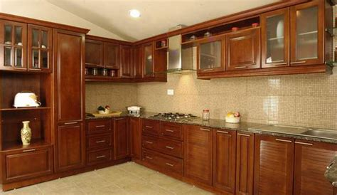 Modular Kitchen Kolkata   Solid Wood Modular Kitchens