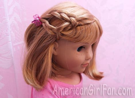 hairstyles for american girl doll videos hairstyles for short american girl doll hair
