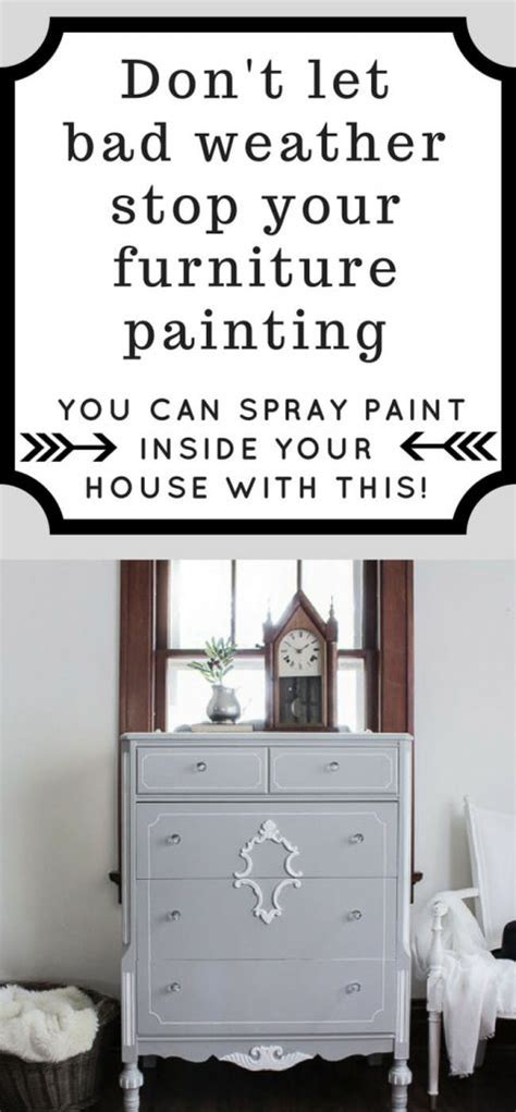 spray painting indoors how to spray paint furniture indoors 1915 house