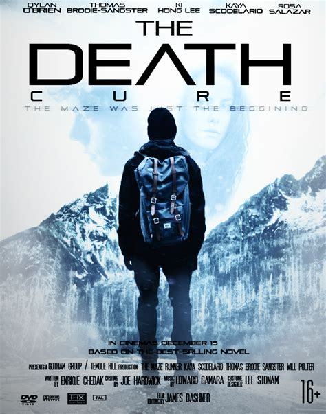film maze runner death cure the maze runner the death cure fan made poster by pdada