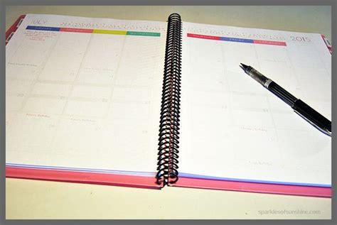 build your own planner make your own daily planner sparkles of sunshine