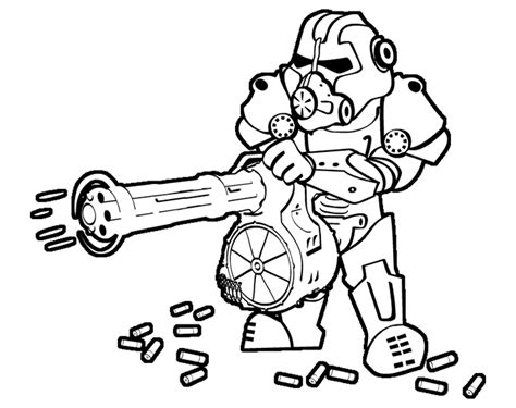 Fallout 4 Coloring Pages by Steam Community Gids Faction Hostility