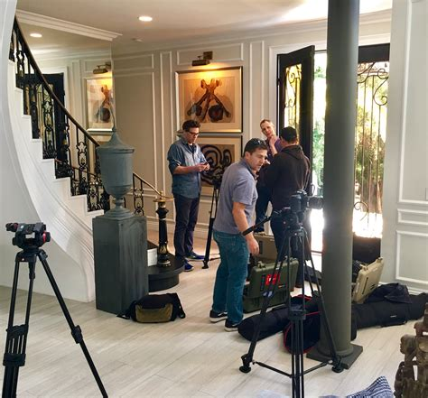 Nbc Open House by Setting Up With Nbc Open House At The Villa Bosphorus In Bel Air For A Segment On Nbc Open House