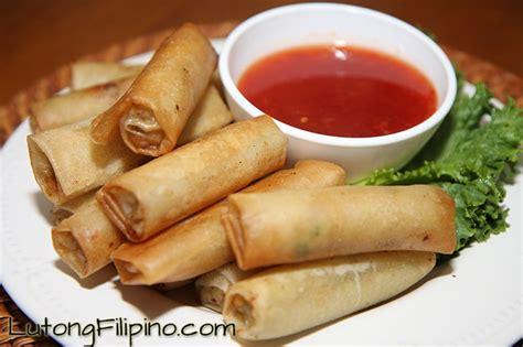 Sring Roll Sumpia Special Sarikaya lumpia recipe recipes from lutong
