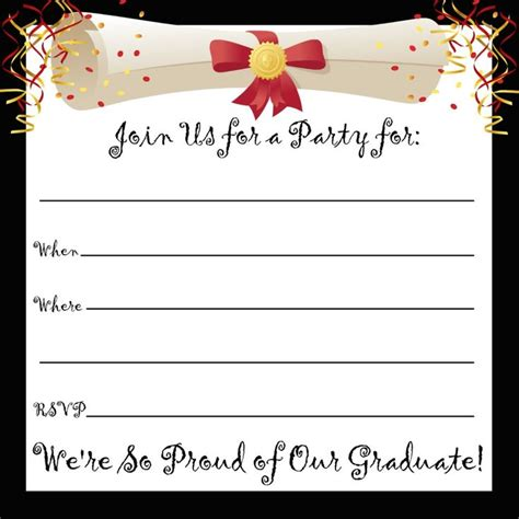 printable invitations for graduation party 23 best cards images on pinterest invitations grad