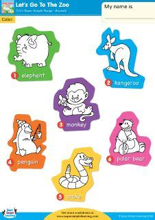 let s learn about jungle animals letã s learn about animals books quot let s go to the zoo quot make your own zoo worksheet from