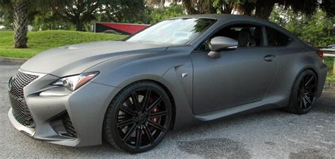 Matte Grey Custom 2015 Lexus Rc F At Lexus Ta Bay