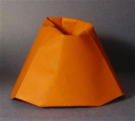 How To Make A Origami Volcano - how to make a origami volcano 28 images how to make a