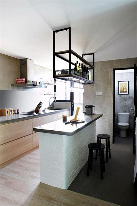 How to visually enlarge a small kitchen   Home renovations