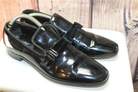 after six patent leather dress loafers 10 s shoes ebay