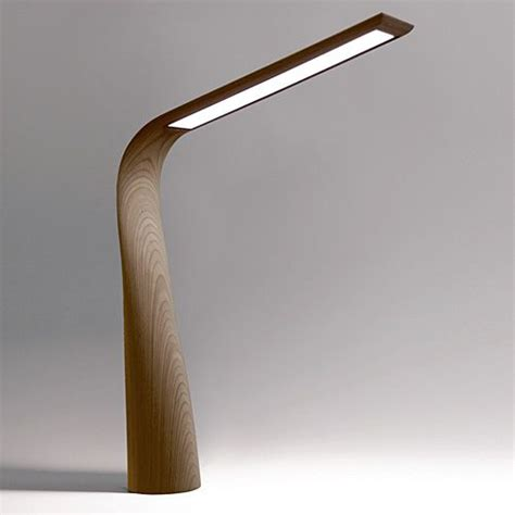 desk light moonbird a luxurious led desk l in walnut or wenge
