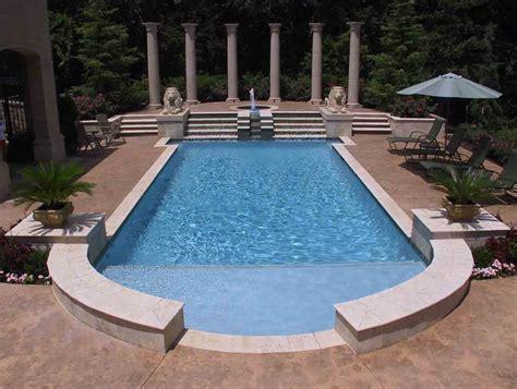 Backyard Pools Guthrie Ok Tulsa Pool Builders Installation Blue Pools Tulsa