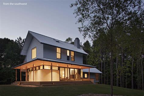 modern home design carolina farmhouse architect magazine in situ studio wake