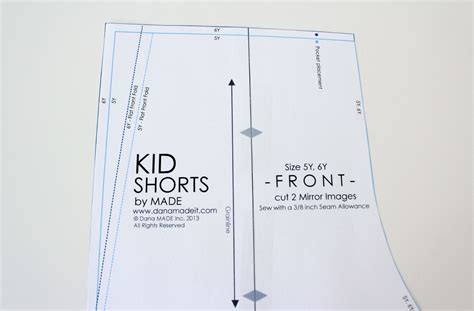 what is pattern making pdf flat front shorts made everyday