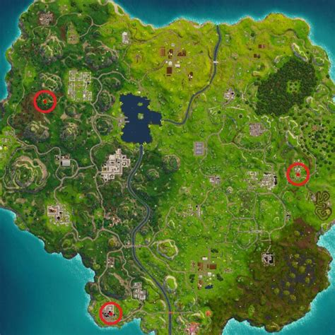 fortnite locations here are the the three fortnite floor locations