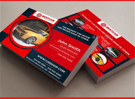 car service post card template car service business cards it services business card