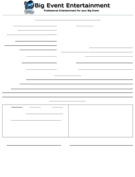 invoice template for dj services dj agreement invoice template for free tidyform