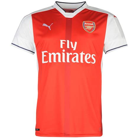 arsenal home shirt 2016 2017 mens football