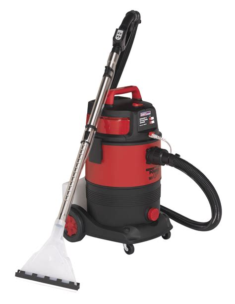 Garage Vacuum Cleaners by Sealey Valeting Machine 30l Hoover Vacuum Cleaner