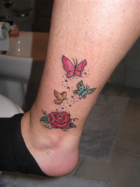 roses with butterflies tattoos and butterfly by 91elena91 on deviantart