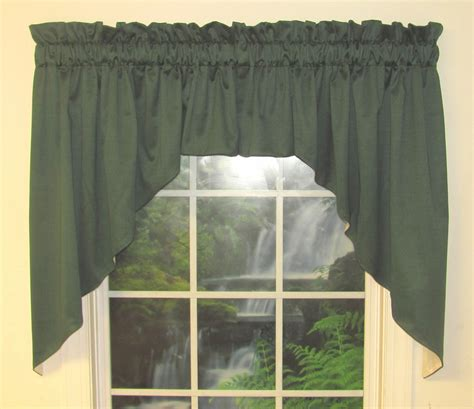 long swag curtains galaxy 39 inch long lined 2 pc swag valance close out