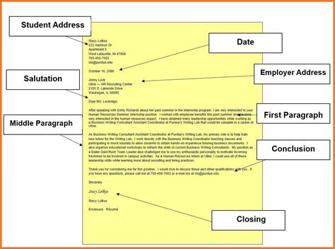 Purdue Owl Business Letter Block Format resume sle purdue owl