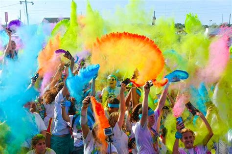 color tun festivals theater whiskey walk and color run 9 things