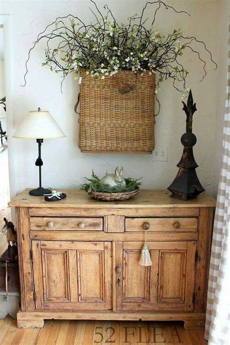 Ideas For Console Table With Baskets Design 25 Ways To Style Your Console For Easter Digsdigs