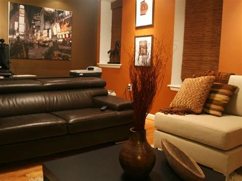 burnt orange and brown living room 25 best ideas about orange living rooms on orange living room furniture orange