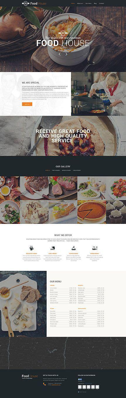 theme drupal restaurant template 57611 cafe restaurant responsive drupal