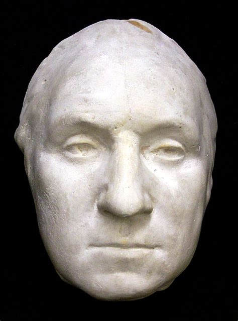 george washington biography of his life death mask