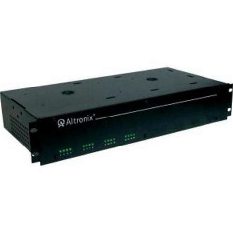 Rack Power Supply by Altronix R1224dc16cb Ul Listed Rack Mount Power Supply