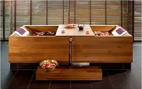 baignoire en bois japonaise baignoire en bois baignoire japonaise