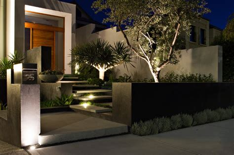 home lighting design perth city beach contemporary landscape perth by tim