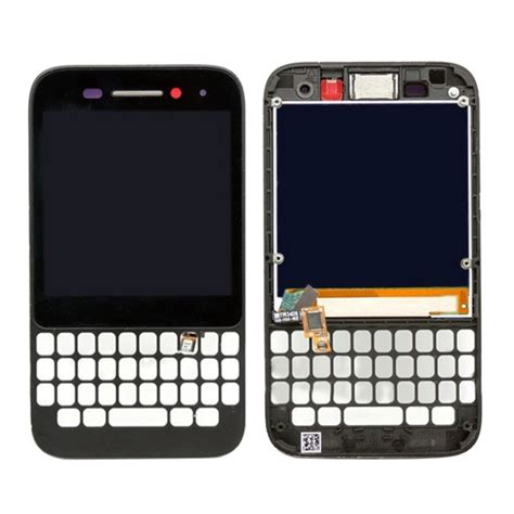 Lcd Touchscreen Bb Q5 replacement blackberry q5 lcd screen touch screen digitizer assembly with frame black alex nld