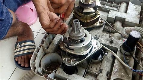 Dinamo Spin Mesin Cuci Polytron cara memasang kaki dinamo spin mesin cuci 2 tabung