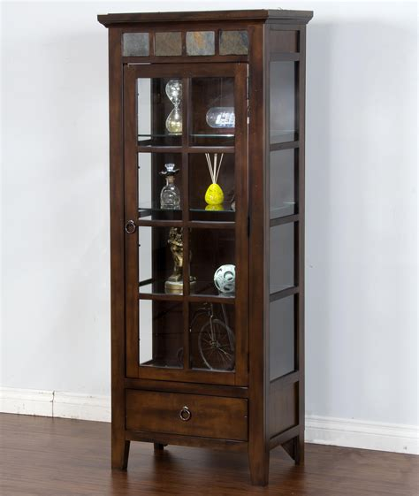 are curio cabinets out of style sunny designs santa fe birch curio cabinet with slat tile