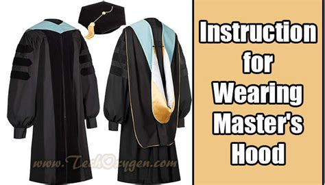 Do You To A Masters Before Mba by How To Correctly Wear The Master S State