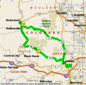 map of nederland colorado denver colorado co profile population maps real auto