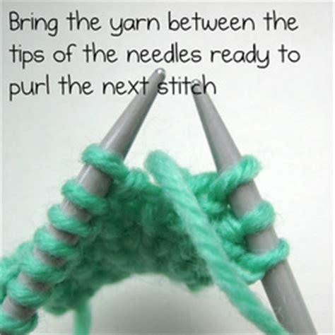 purl stitch vs knit stitch how to knit one purl one amanda berry